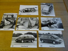 TOYOTA PREVIA ORIGINAL PRESS PHOTOS x 7 Brochure Related jm