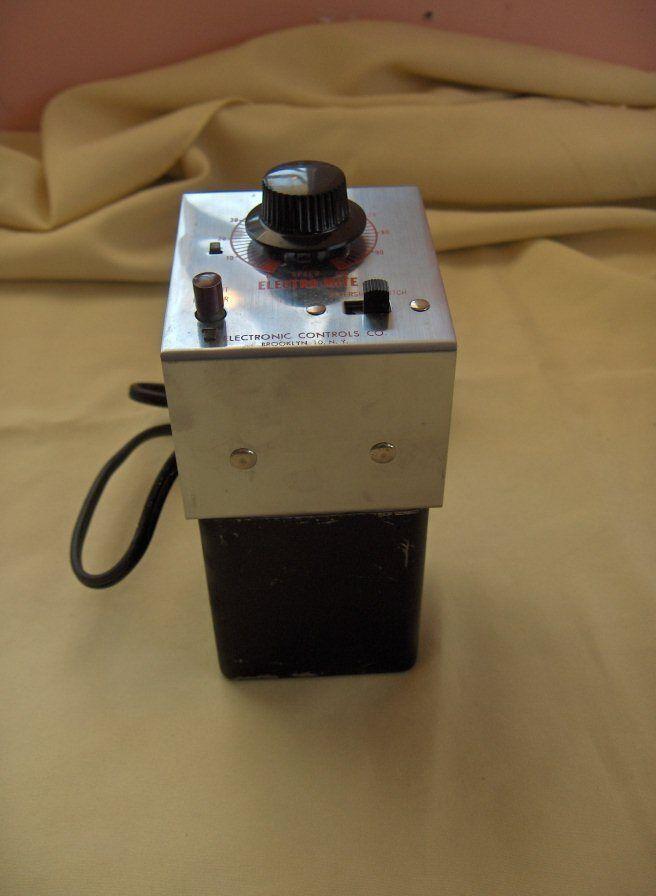 Vintage Electro-Mite Train Transformer Electronic Contr