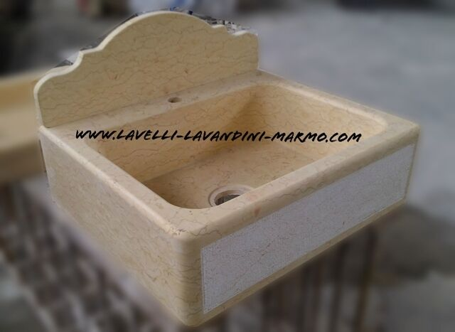 Lavabo lavandino lavello marmo cucina muratura 1