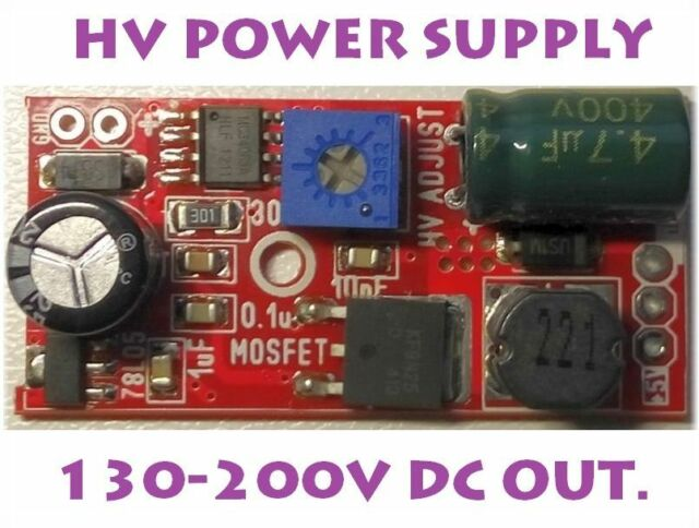 POWER SUPPLY for in14 in16 in18 in12 nixie tube 130-200V  NEW VERSION