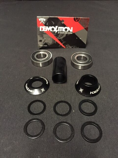 FIEND SEALED MID BOTTOM BRACKET 19MM OR 22MM BMX BIKE BB KIT BSD FIT CULT PRIMO