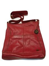 $129 The Sak Lucia Barley Floral Pebbled Embossed Leather Crossbody Shoulder Bag