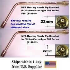 Mfa Heating Nozzle Tips Rosebud For Victor And Victor Type 300 Series No1012