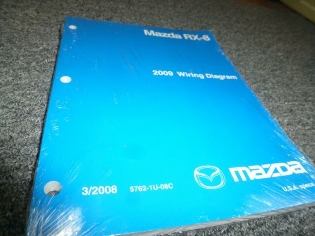 2009 Mazda Rx8 Coupe Electrical Wiring Diagrams Manual