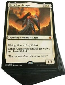 Custom Commander Deck - Lyra Dawnbringer - Angels Tribal - EDH Magic Cards