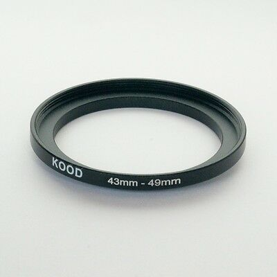 43.5mm to 49mm Stepping Step Up Filter Ring Adapter 43.5mm-49mm