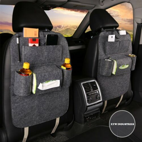 2x Toyota Fortune Seat Compartment Organiser Tissue Drinks Storage for Kids Mums