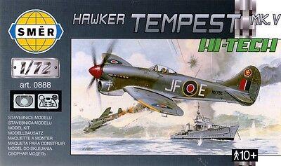 TEMPEST Mk V (80TH SQN RAF, 122ND SQN RAF & PIERRE CLOSTERMAN MKGS) 1/72 SMER