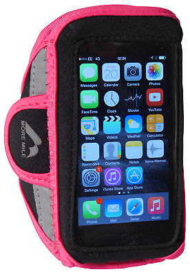 More Mile Media Armband Iphone & Samsung Phone Carrier Pink