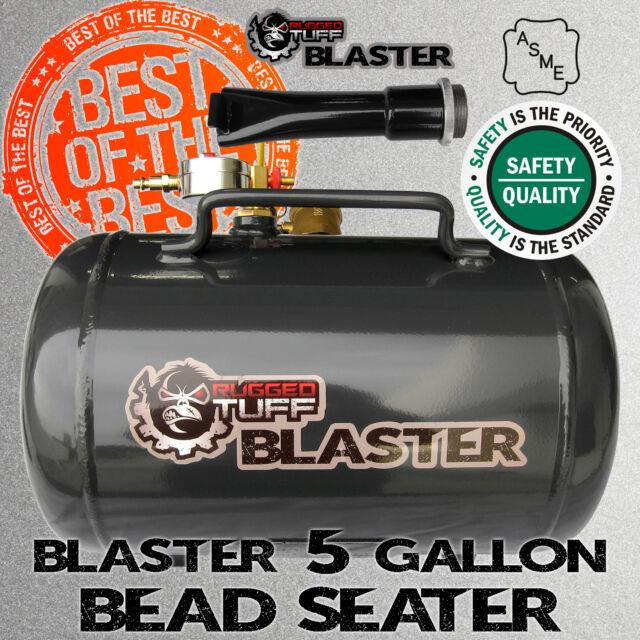 PORTABLE  10 GALLON BLASTER TIRE BEAD SEATER AIR TANK SEATING TOOL 150PSI ASME