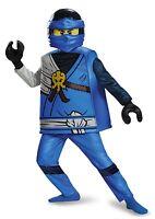 Lego Ninjago Jay Deluxe Costume (large) Large Blue