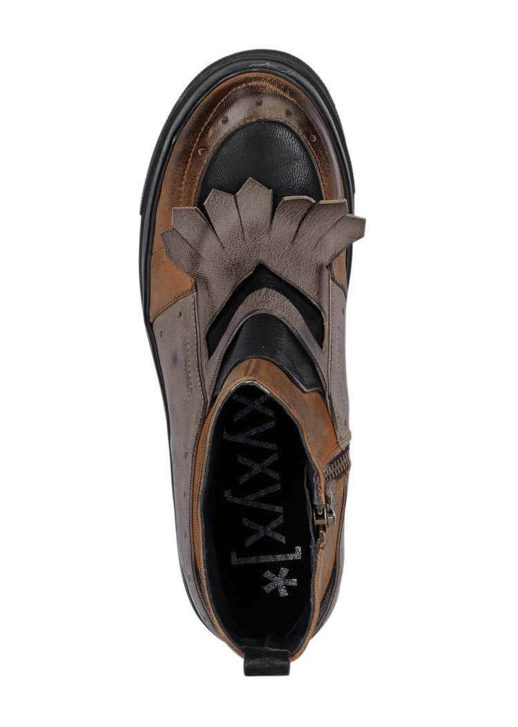 Xyxyx Marques-bottine, Marques-bottine, Marques-bottine, couleur taupe-Cognac Cuir RRP:€ 149.90 59c944