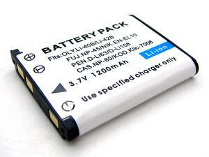 Bateria para olympus li-42b mju 725sw 725 SW 730 740 750 fe