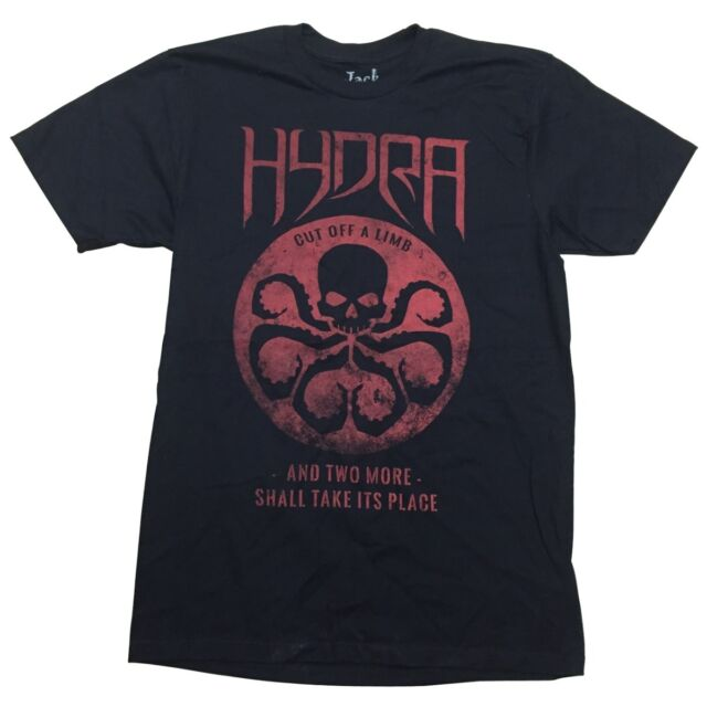 Hydra Symbol Cut Off A Limb Marvel Comics Premium Adult T Shirt