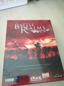 Battle-Realms-PC-New-Big-Box-No-ps1-SNES-Sega-msx-Neo-Geo-NEC-Game-Boy-Apex