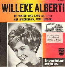 """WILLEKE ALBERTI - De Winter Was Lang  (1965 FAVORIETEN EXPRES SINGLE 7"""")"""
