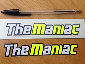 """Andrea Iannone """"The Maniac"""" Screen Decals (Large)"""