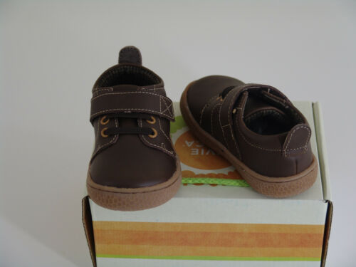 NEW Livie /& Luca boy/'s fall shoes Grip Vintage Brown toddler size 4 and 6