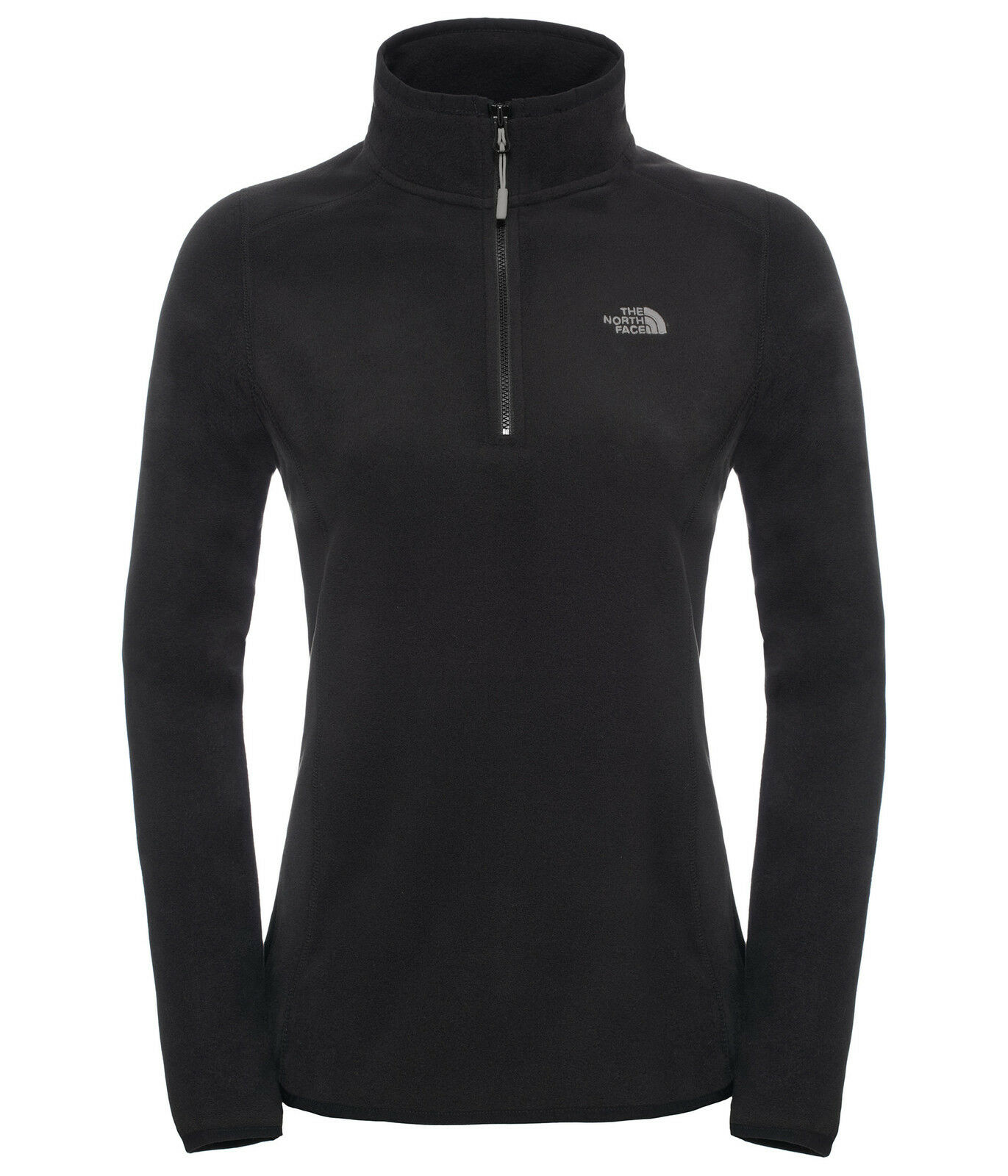 The north face womens 100 glacier 1 4 zip lightweight  fleece jumper  promotional items
