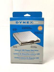 Dynex-External-USB-3-5-034-Floppy-Disk-Drive-DX-EF101-Brand-New