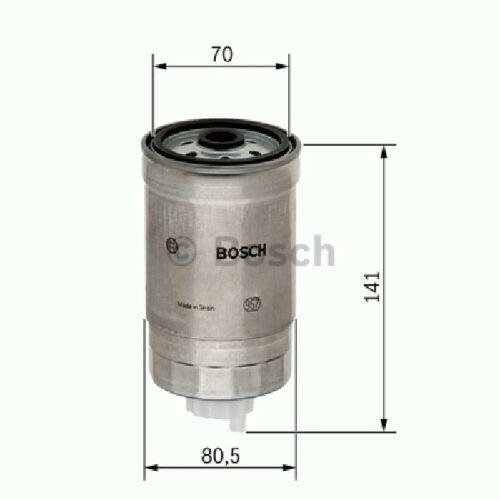 a estrenar genuino parte 1457434511 Caja De Filtro De Combustible Bosch N4511 Filtros-Combustible