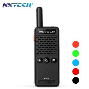 NKTECH-NK-M2-Super-Mini-UHF-16CH-50g-Ham-Transceiver-Two-Way-Radio-Walkie-Talkie