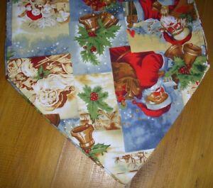 Traditional-Christmas-table-runner-60cm-110cm-135-cm-Red-Green-Homemade