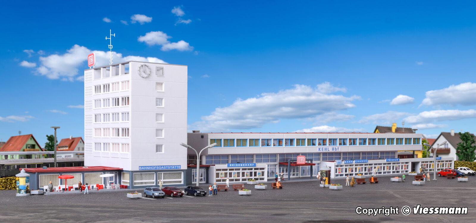 Kibri n 37517-Estación kehl incl. etageninnenbeleuchtung kit Artículo nuevo