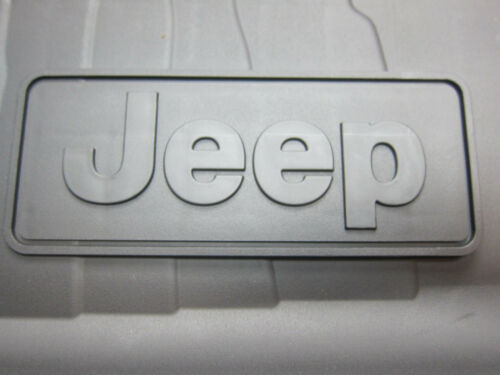 2018 Jeep Wrangler JL Cargo Area Tray Tub Liner with Jeep Logo Mopar OEM