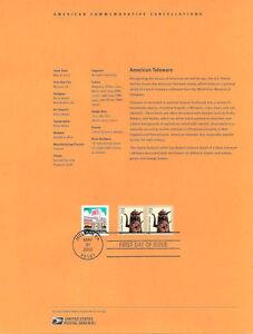 #0209 5c American Toleware Coil #3612 Souvenir Page