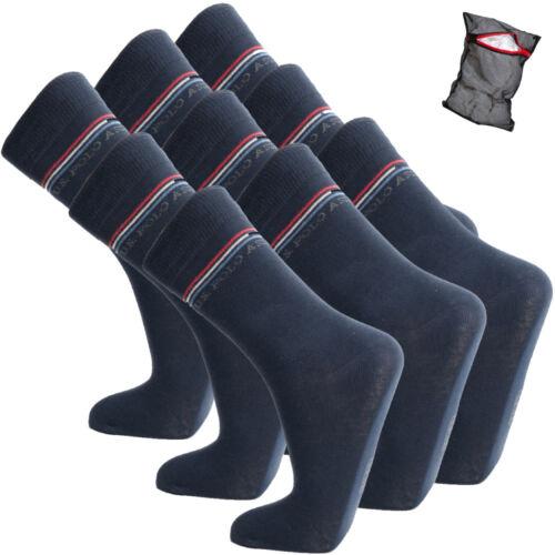 6er 9er POLO ASSN Loisirs Chaussettes 12er-Pack U.S ballerine-Chaussettes-Homme 3er