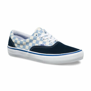 Image is loading Vans-Era-Pro-Checkerboard-Dress-Blue-skate-shoe- 9661ad425