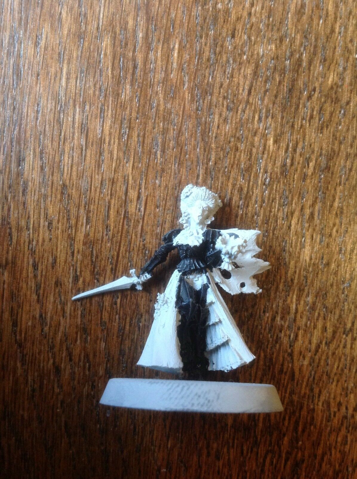 Warhammer. Undead Female Vampire Lord Isabella Von Carstein. Finecast.