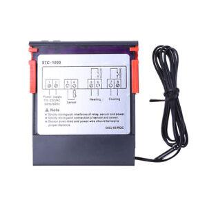 Digital-STC-1000-All-Purpose-Temperature-Controller-Thermostat-W-Sensor-AC-220V