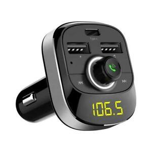 Bluetooth Car FM Transmitter MP3-Player Freisprecheinrichtung Kit shi Fast K0X4
