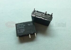 OMRON-G6D-1A-ASI-DC24-SPST-POWER-RELAY-5A-24VDC-4-Pins-x-1pc