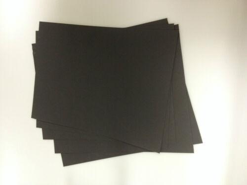 A4 BLACK CARD 5 Sheets per Pack