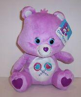 Licensed Care Bears Share Bear Purple 11 Super Soft Plush Doll Toy