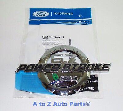 2 11-19 Ford 6.7 Powerstroke Turbo Diesel Door Emblem Black