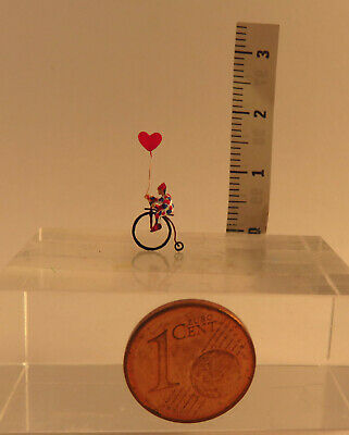 (x110) Clown Su Bicicletta Monoruota Personaggio Traccia Scale Z (1:220)-mostra Il Titolo Originale Prezzo Di Strada