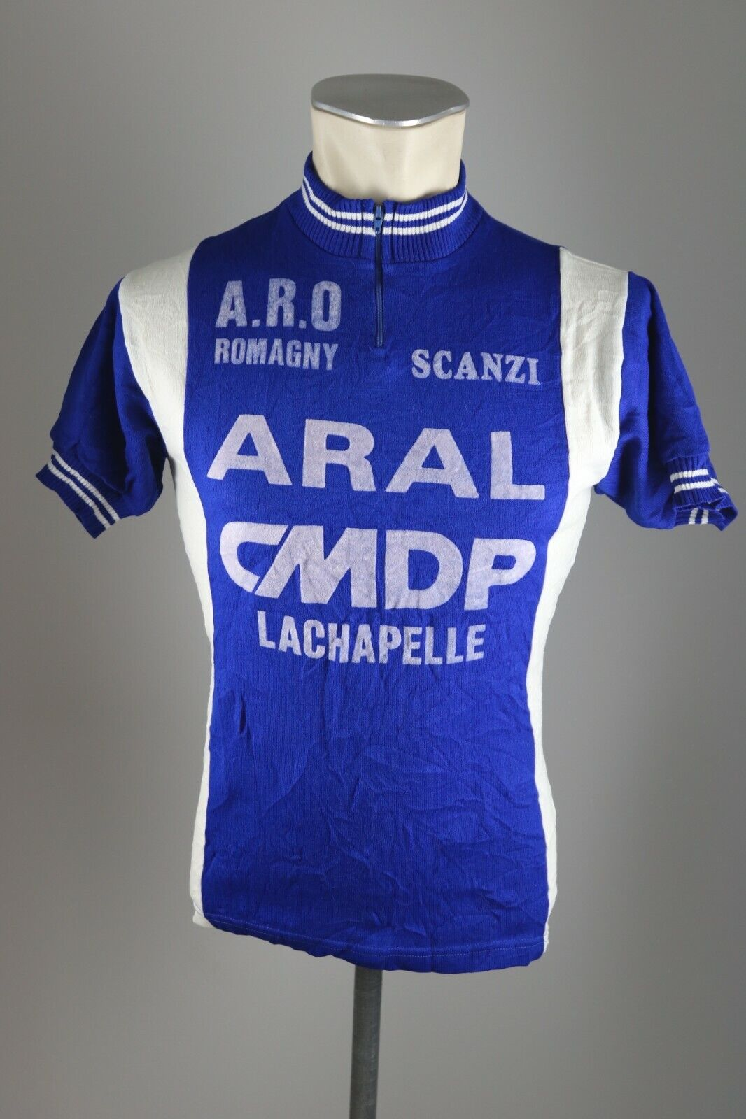 ARAL CMDP Lachapelle Crylor acrylique cycling Rad Trikot Gr. S-M bike jersey ES1