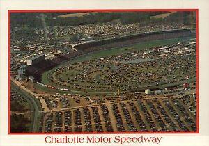 Charlotte Motor Speedway North Carolina Nascar Automobile Car Racing Postcard Ebay