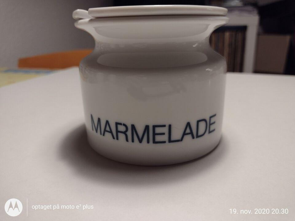 Porcelæn, Marmelade krukke, Eva Trio