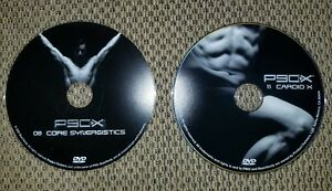 Details about 2 - P90X DVDs #8 Core Synergistics AND #11 Cardio X FREE ASAP  Shipping!!! :)