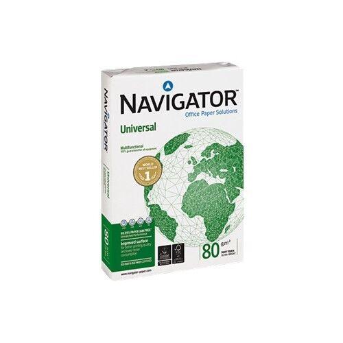 weiß 10000 Navigator Universal Kopierpapier DIN A4; 80g// m²; 10.000 Blatt