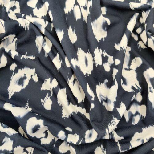 FS572 Monochrome Imprimé Léopard Mince Doux Jersey stretch polyester filé tissu