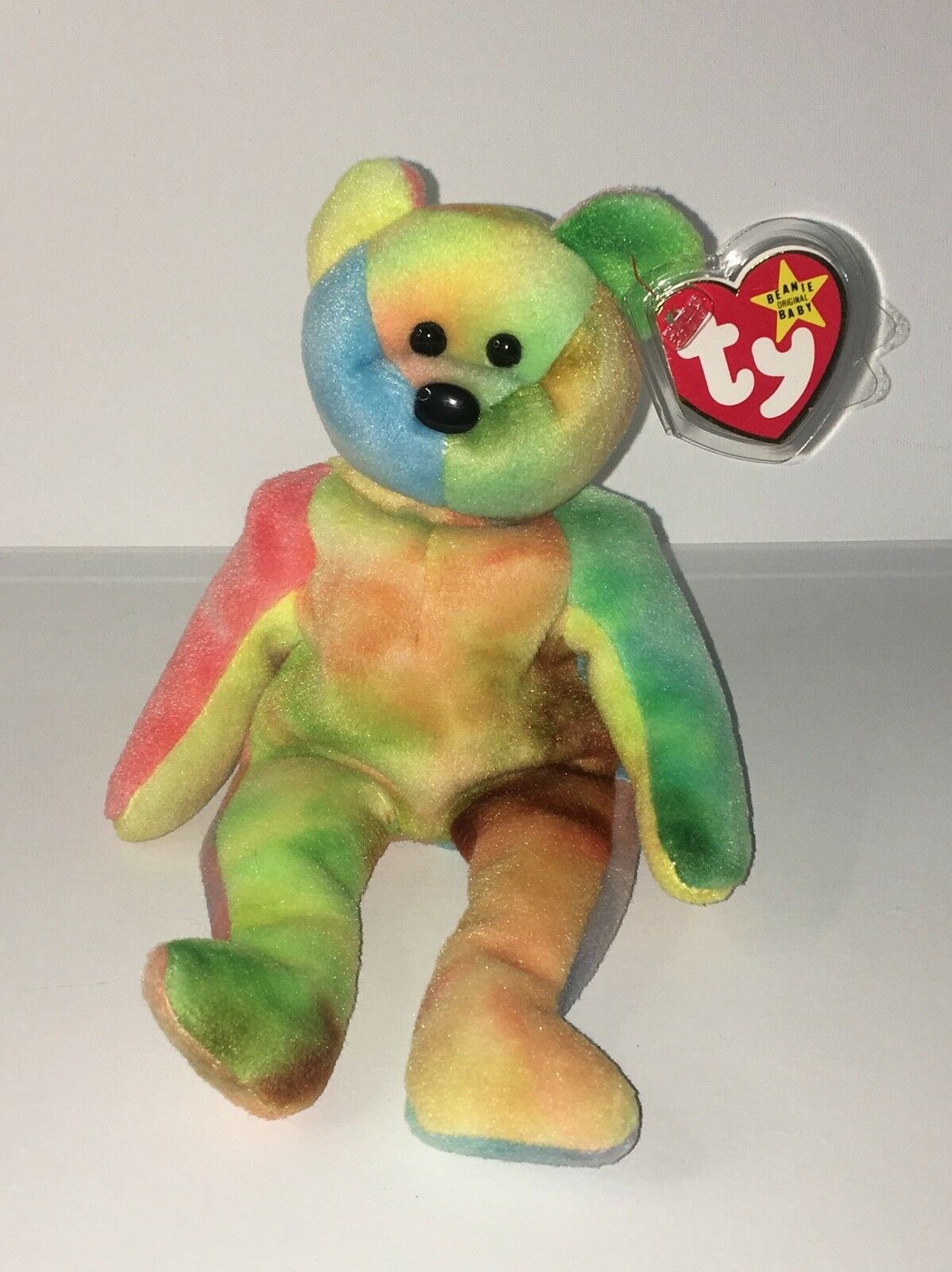 BRAND NEW RARE Ty 1995 Garcia Bear Retired Collectable Mint Condition