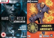 Hard Reset Extended Edition & aikens artifact NUOVO e SIGILLATO