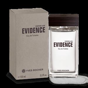 Yves Rocher Comme Une Evidence Homme Eau de Toilette Men Fragrance 100 ml