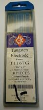 CK T1167GTM LaYZr Tungsten Electrode 1//16 x 7 Pack of 10